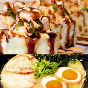 kokage ramen sushi roll