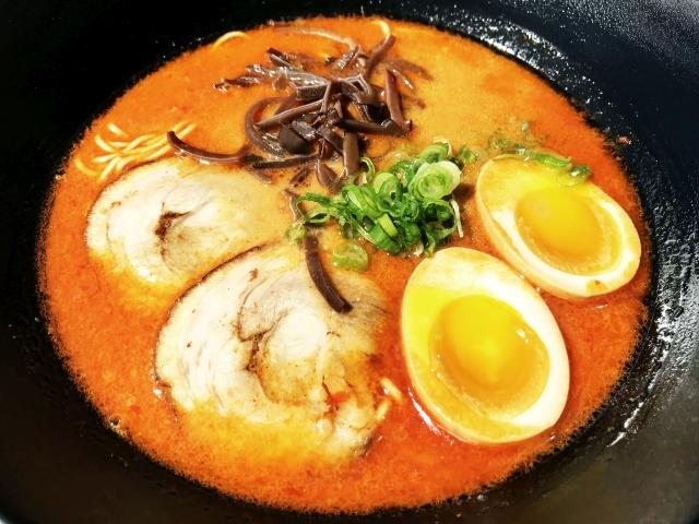 spicy tonkotsu miso ramen