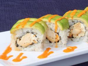 Cream Cheese Teriyaki Chicken Roll