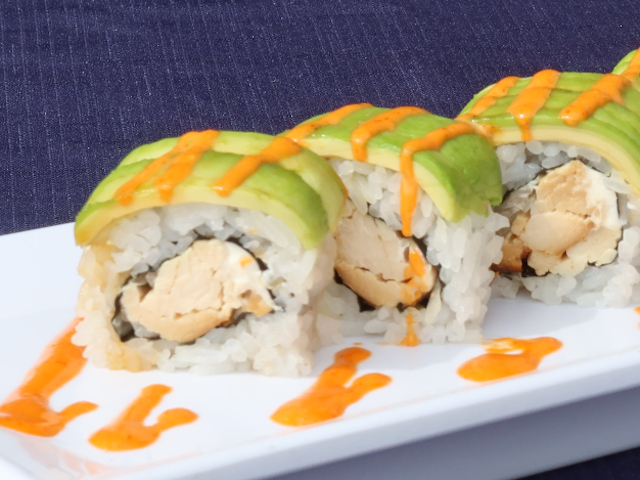 Cream Cheese Teriyaki Chicken Roll