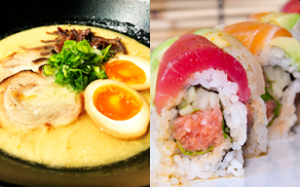 ramen sushi